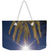 Autumn Coniferous Weekender Tote Bag