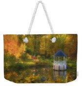 Autumn Gazebo Weekender Tote Bag by Joann Vitali
