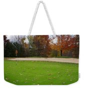 Autumn On The Green Weekender Tote Bag