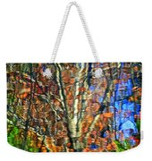Autumnal Abstracious Weekender Tote Bag