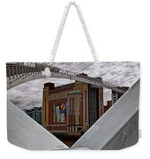 Baltic And Gateshead Millennium Bridge Weekender Tote Bag