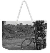 Banana Bike Weekender Tote Bag