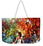 Barefooted Stroll Weekender Tote Bag