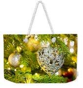 Bauble In A Christmas Tree  Weekender Tote Bag