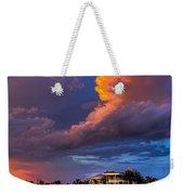 Beach Front Rain Weekender Tote Bag by Marvin Spates