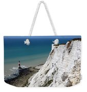 Beachy Head Cliffs And Lighthouse  Weekender Tote Bag