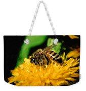2 Bee Or Not 2 Bee Weekender Tote Bag
