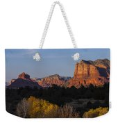 Bell Rock And Courthouse Butte Weekender Tote Bag