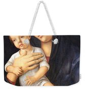 Bellini's Madonna And Child Weekender Tote Bag