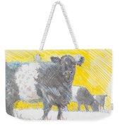 Belted Galloway Cows Weekender Tote Bag