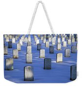 Beneath The Snow Weekender Tote Bag
