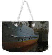 Bering Sea Weekender Tote Bag