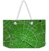 Berlin Street Map - Berlin Germany Road Map Art On Colored Backg Weekender Tote Bag