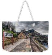 Berwyn Railway Station Weekender Tote Bag