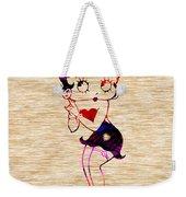 Betty Boop Weekender Tote Bag