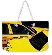 Big Yellow Taxis Weekender Tote Bag