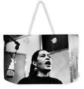 Billie Holiday (1915-1959) Weekender Tote Bag