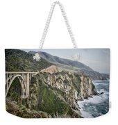 Bixby Bridge Vista Weekender Tote Bag