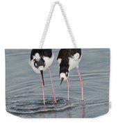 Black-necked Stilt Weekender Tote Bag