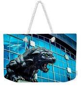 Black Panther Statue Weekender Tote Bag