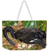 Black Swan At Nest Weekender Tote Bag