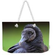 Black Vulture Portrait Weekender Tote Bag