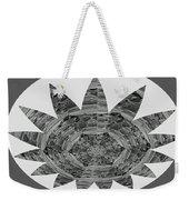 Bnw Black N White Star Ufo Art  Sprinkled Crystal Stone Graphic Decorations Navinjoshi  Rights Manag Weekender Tote Bag