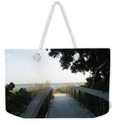 Boardwalk To The Beach Weekender Tote Bag