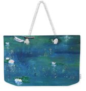 2 Boats In The Lily Pond Weekender Tote Bag
