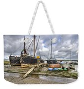 Boats On The Hard At Pin Mill Weekender Tote Bag