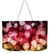 Bokeh Background Weekender Tote Bag