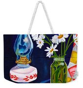 2 Books And A Lamp Weekender Tote Bag