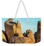 Boulders In A Desert, Joshua Tree Weekender Tote Bag
