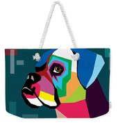 Boxer  Weekender Tote Bag by Mark Ashkenazi