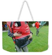 Boy Scouts Canoeing On The Bowron Lakes Weekender Tote Bag