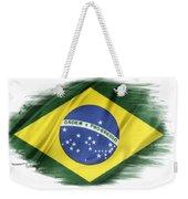 Brazilian Flag  Weekender Tote Bag