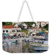 Brela Harbour Croatia Weekender Tote Bag