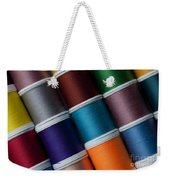Bright Colored Spools Of Thread Weekender Tote Bag