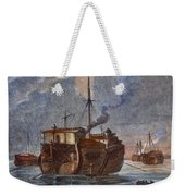 British Prison Ship Weekender Tote Bag