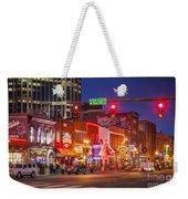 Broadway Street Nashville Weekender Tote Bag