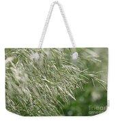 Brome Grass In The Hay Field Weekender Tote Bag