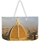 Brunelleschi's Dome At The Basilica Di Santa Maria Del Fiore Weekender Tote Bag