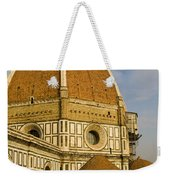Brunelleschi's Dome At The Florence Cathedral  Weekender Tote Bag