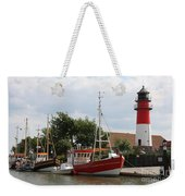 Buesum Lighthouse - North Sea - Germany Weekender Tote Bag