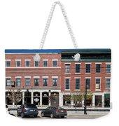 Buildings Along A Street, Thomaston Weekender Tote Bag