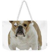 Bulldog, Female Weekender Tote Bag