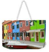 Burano Italy Weekender Tote Bag