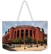 Busch Stadium - St. Louis Cardinals Weekender Tote Bag