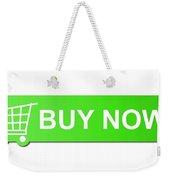 Buy Now Green Weekender Tote Bag