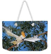 Cacatoes A Huppe Orange Cacatua Weekender Tote Bag
